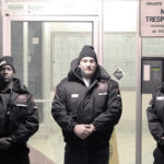 Three Security Guard team for protection
