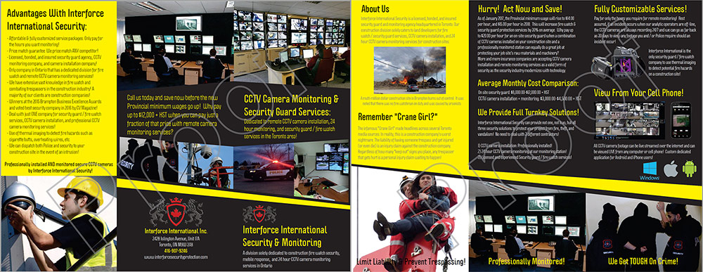 Digital Brochure for Remote Security Informaiton
