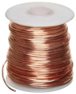 Copper wiring for jobsite security