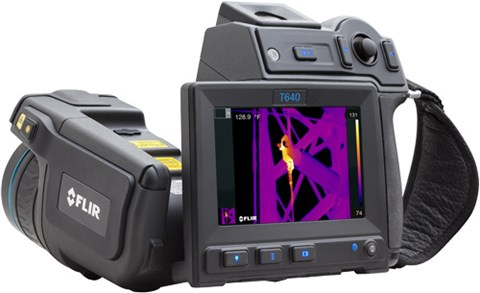 thermal imaging cameras to detect potential fire hazards