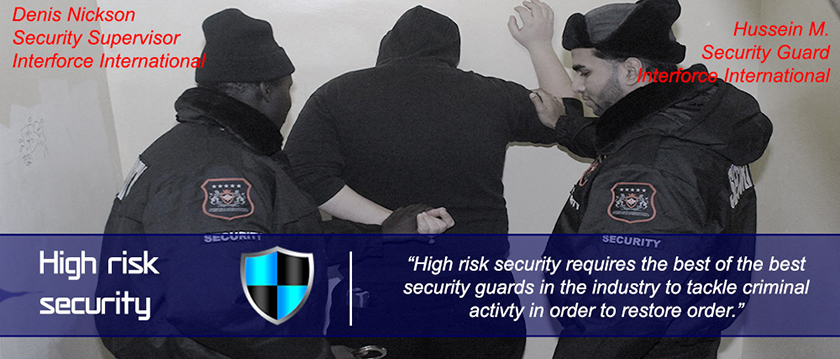 High risk security services – Interforce security protection